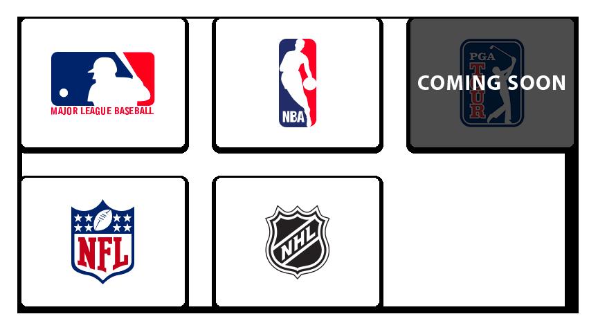 Every major sport