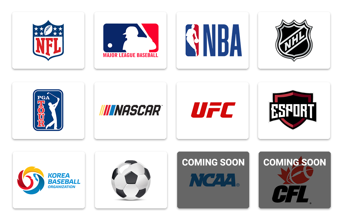We offer every sport...